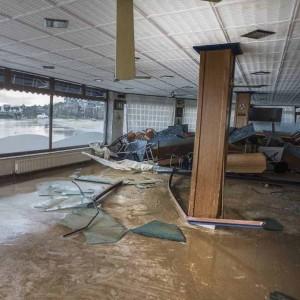 Limpieza de locales inundados. Bilbao